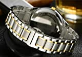 Replacement Gold Watch Strap 21mm Stainless Steel