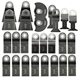 Pukido 26pcs Mixed Blades Multitool Saw Blade Accessories For Fein Multimaster Bosch Makita