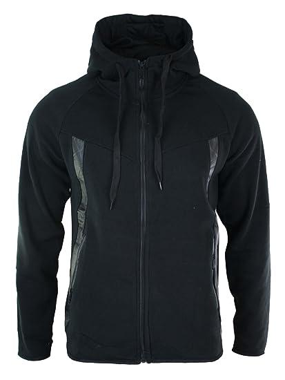 Survêtement homme ensemble sweat à capuche et pantalon sport doublure style  polaire fermeture éclair coupe cintrée b6a6d1f75ac0