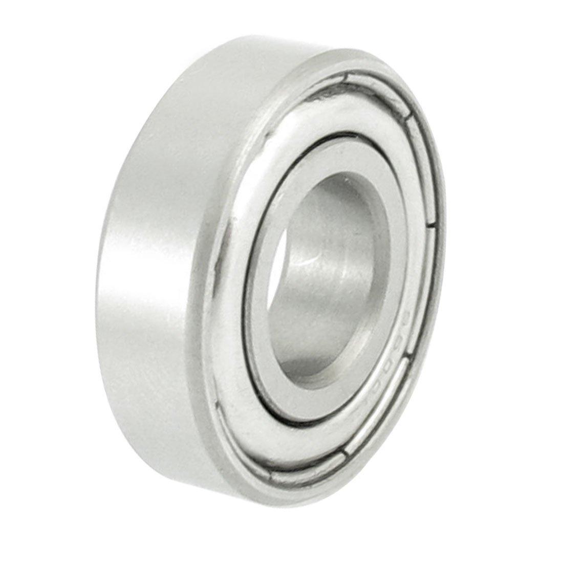 eDealMax Acero inoxidable DE 28 mm x 12 mm x 8 mm cerrados ...