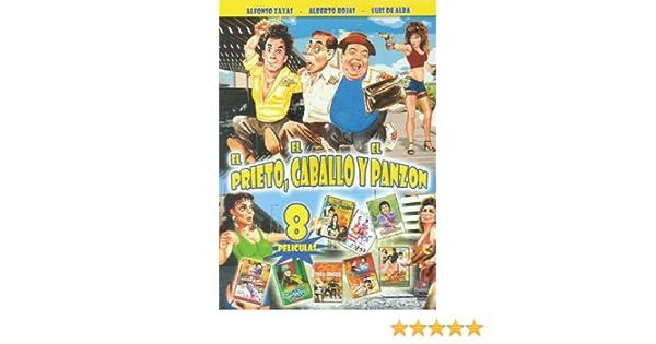 Amazon.com: El Prieto, El Caballo Y El Panzon - 8 Peliculas - Alfonzo Zayas, Alberto Rojas, Luis De Alba: Alberto Rojas, Luis De Alba Alfonzo Zayas: Movies ...