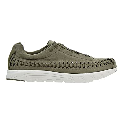 official photos bc928 834c7 Nike Mens Mayfly Woven Suede Woven Fashion Sneakers Green 8 Medium (D)