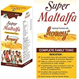 Super Maltalfa Complete Family Tonic (250gms) Pack of 2 with Alfalfa, Ginseng