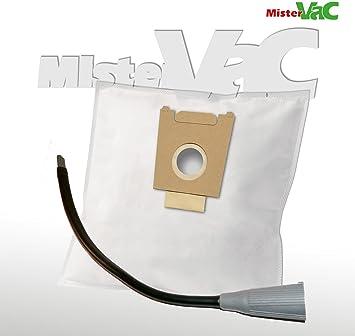 10 x Bolsas de aspiradora + Flex Boquilla Adecuado Bosch BSA 3510/06 Sphera 35 PowerMax: Amazon.es: Hogar