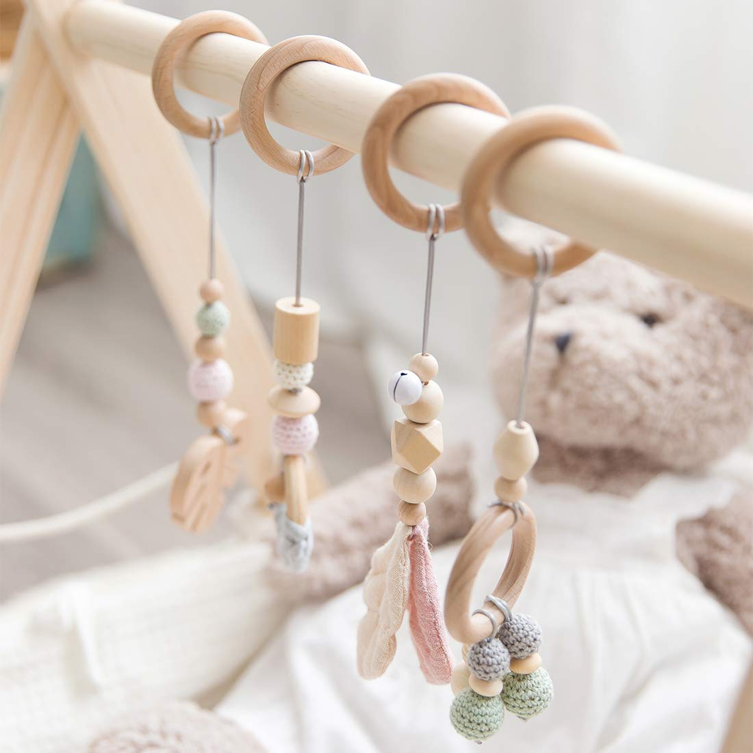 Amazon.com: Juguetes de gimnasio Lets Make Baby Play: Toys ...