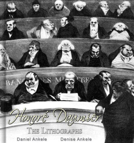 Honoré Daumier: The Lithographs-80+ Illustrations