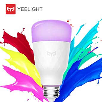 Yeelight bombilla LED E27,original bombilla inteligente 10W 800lm 1700K-6500K,Bombilla regulable