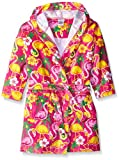 Komar Kids Girls Flamingo Print Cotton Terry Robe Cover Up, Kids Size S(5/6)