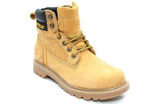 Cat Footwear - Calzado de protección de Material Sintético para mujer Amarillo Honigfarben, color Amarillo, talla 40: Amazon.es: Zapatos y complementos