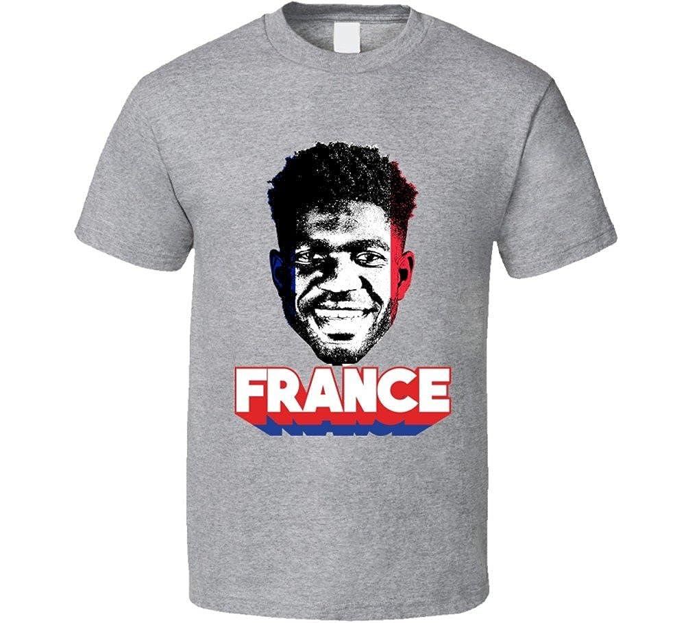 f479e3904 Samuel Umtiti France Big Head Cool World Cup Fan T Shirt | Amazon.com