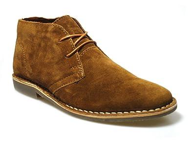 02b4c1e4c98 Red Tape Gobi Men's Tan Suede Desert Boots