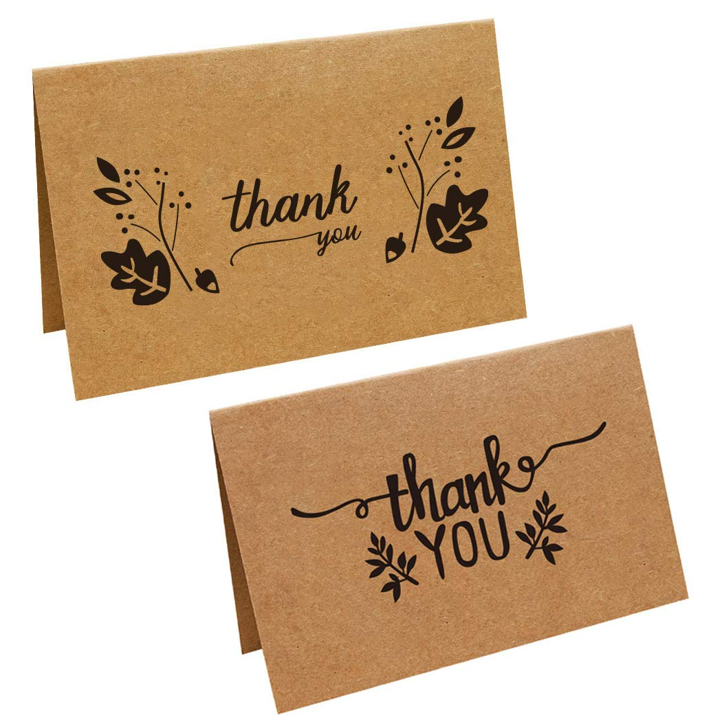 Sipliv conjunto de tarjetas de agradecimiento 6 tarjetas de ...