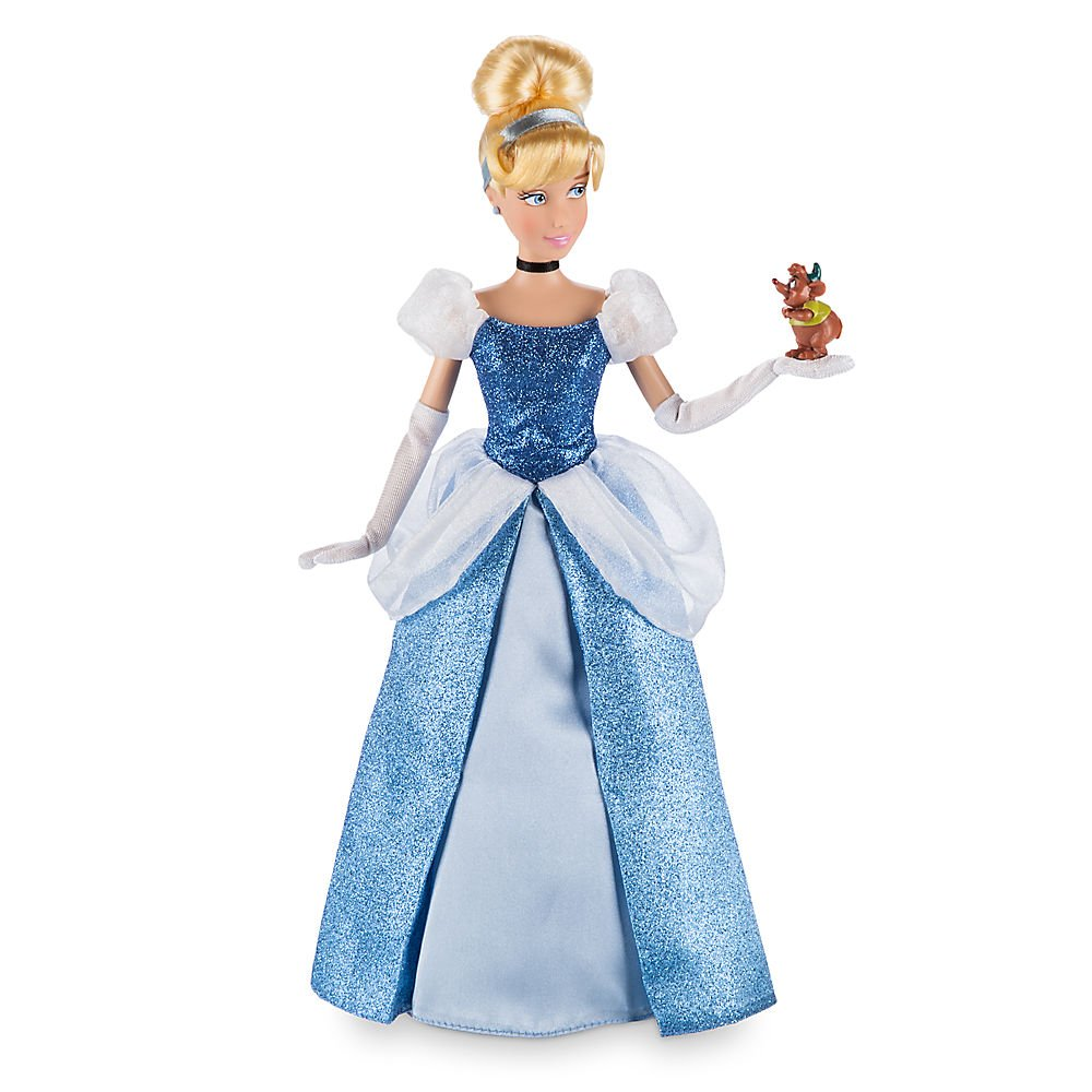 Amazon DISNEY STORE 12 CINDERELLA CLASSIC DOLL WITH GUS Toys Games