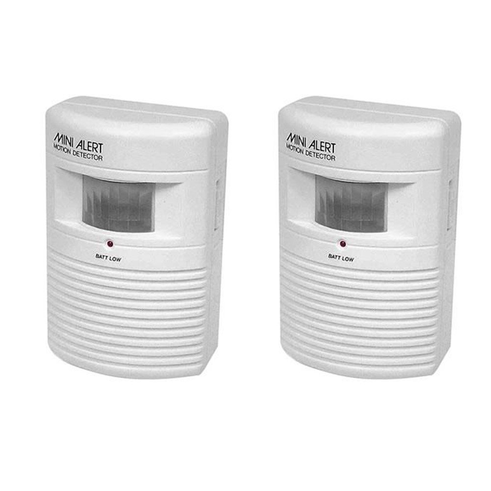 Mini Alert Motion Detector Alarm (2 Motion Sensors)
