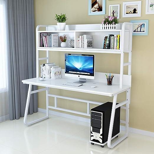 Ncloyn Mesa De Ordenador Moderno Mesa De Oficina,Madera Mesa De ...