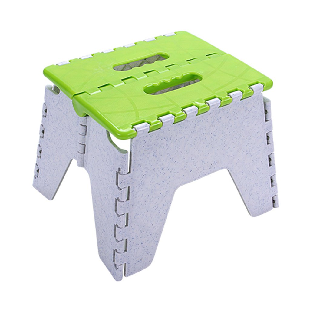 WANGXIAOLIN Folding Stools Super Load-bearing Can Be Hung For Use Suitable For Kitchens, Bathrooms, Children Or Adults