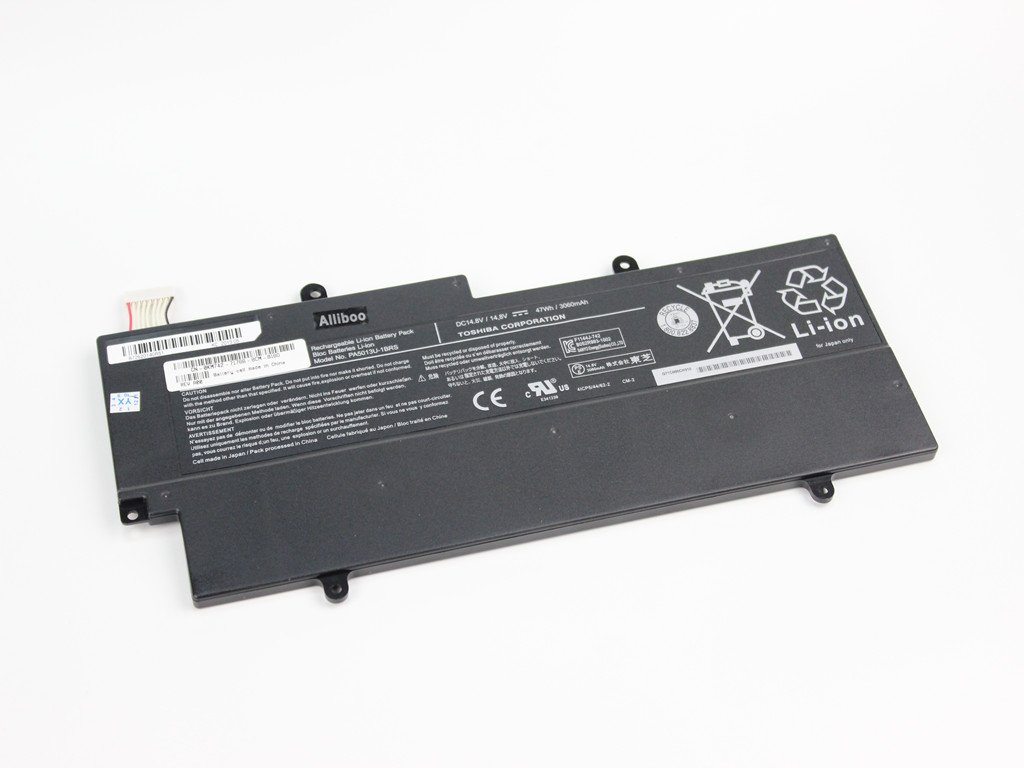 Amazon.com: Alliboo New Laptop Battery for Toshiba Portege Z830 Portege Z835 Portege Z830 Portege Z930 Portege Z835-st6n03 Series 14.8v 3100mah Pa5013u-1brs ...