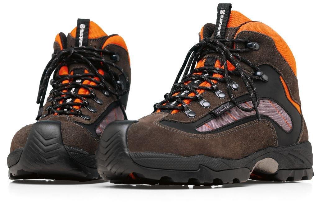ハスクバーナ ブーツ テクニカル 575354741 合成樹脂製トゥキャップ入り オレンジ/グレー/黒 41 (26.0cm) B00EWFDSY4
