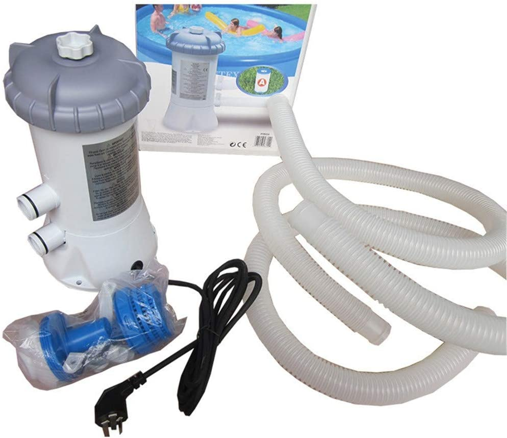 QingFang Electric Filter Pump Set Swimming Pool 220v Filter Pump Circulation Pump For Above Ground Pools Cleaning Tool,Removable Filter Element Circulating Pump Kits