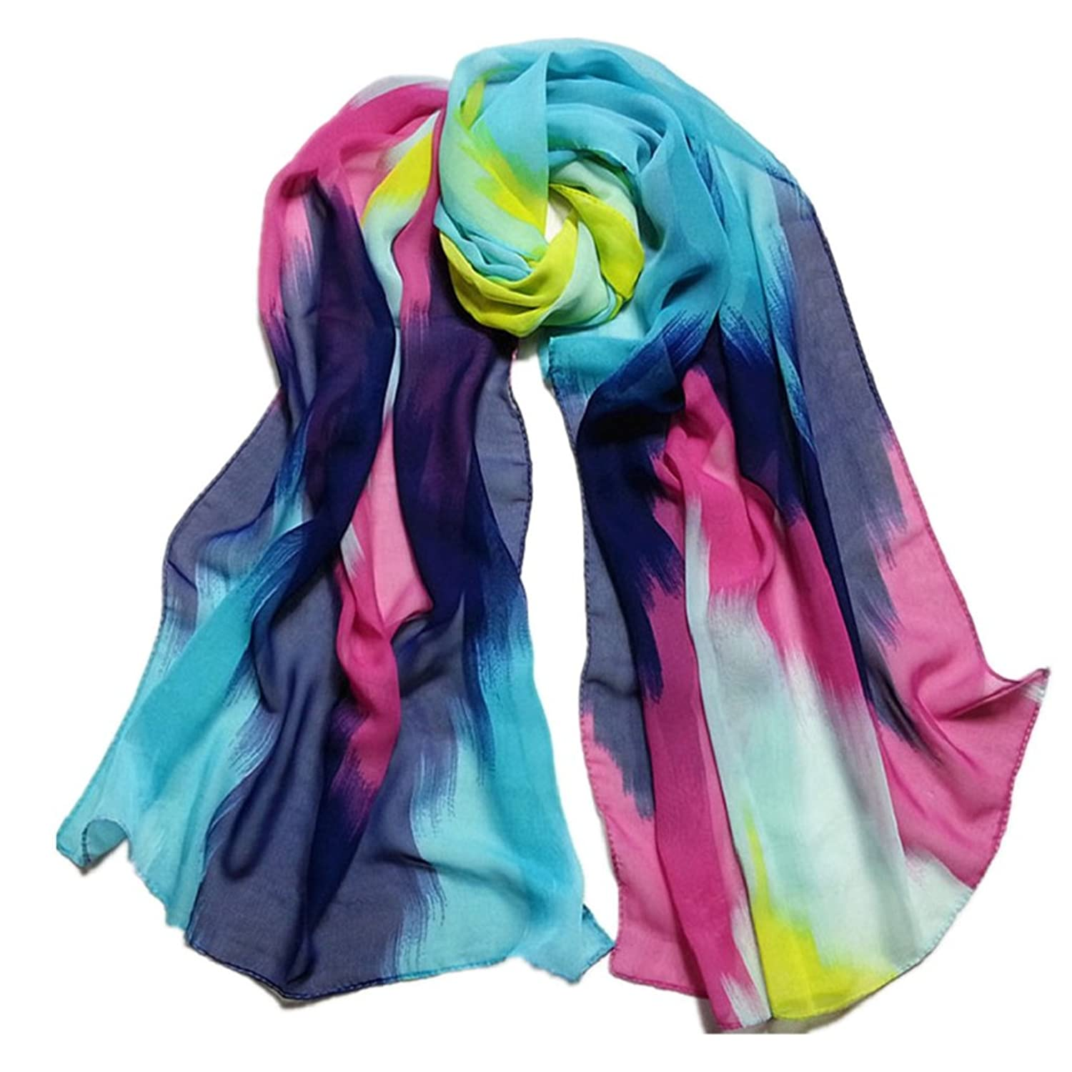 Outtop Womens Fashion Chiffon Soft Shawl Scarf [ Blending ]