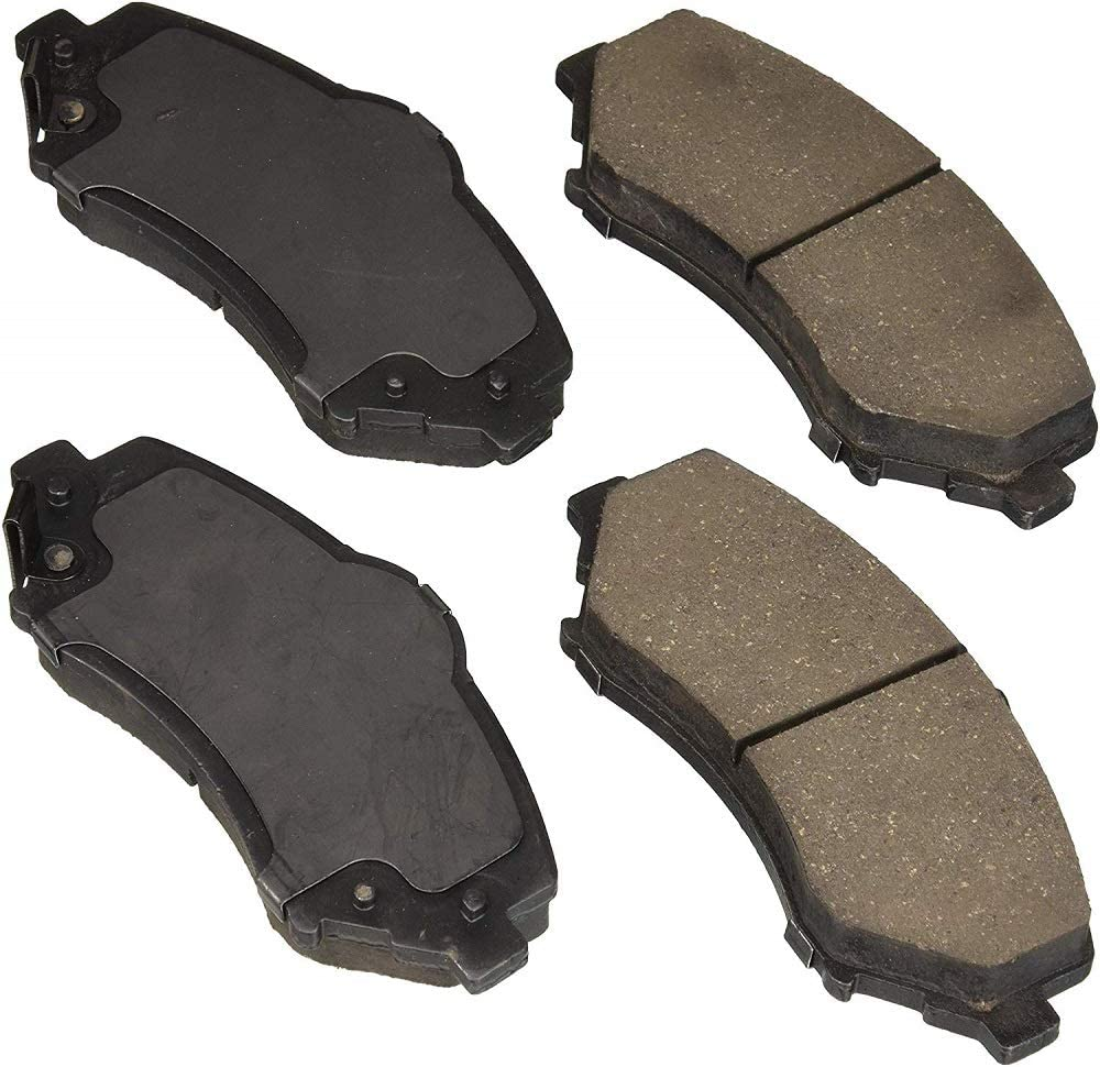 RIGHT STOP Premium Ceramic Brake Pad Set Rear - D1734 Installation Hardware Kit Included
