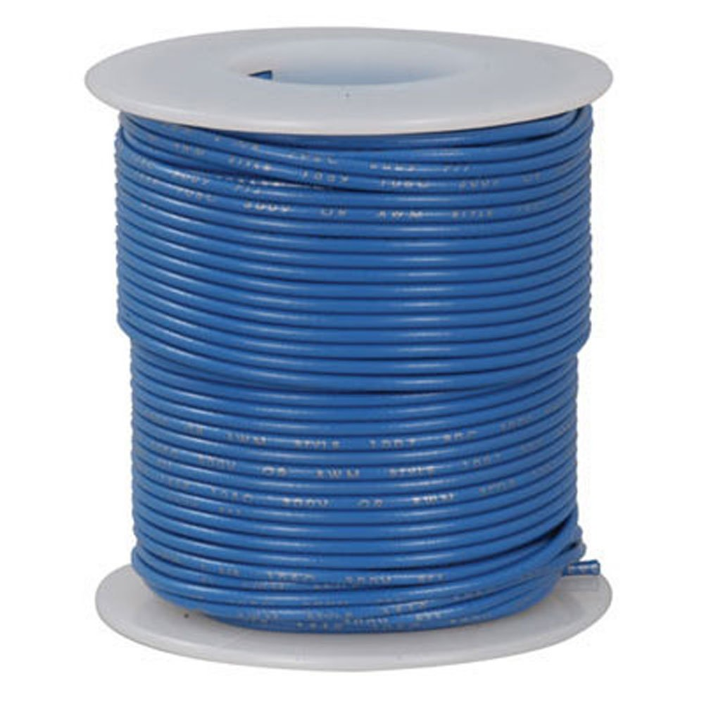 26 AWG Jameco Valuepro 815-6-VP Hook-Up Wire 100 Feet Stranded Tinned-Copper Blue