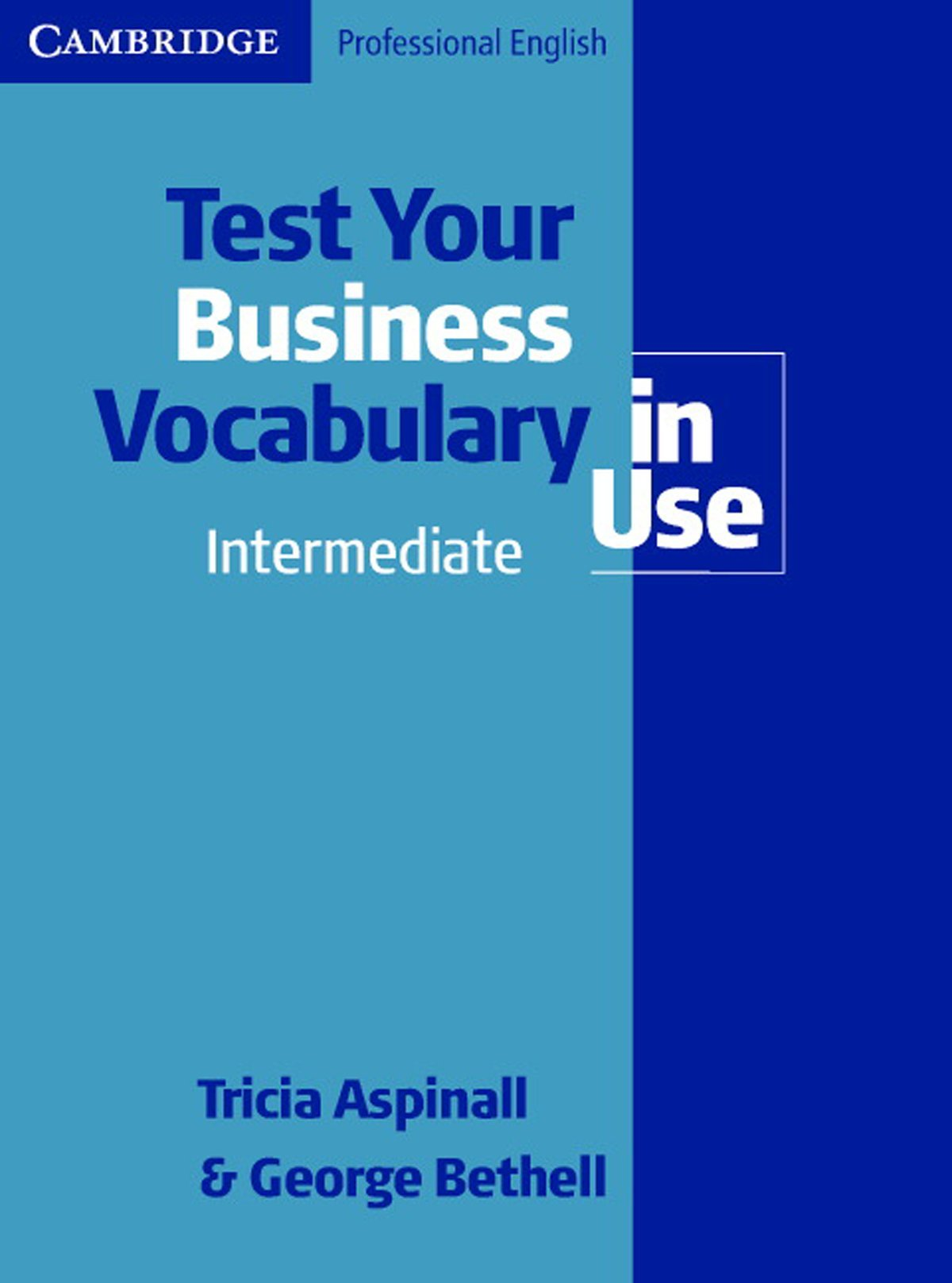Test Your Business Vocabulary in Use, Intermediate / Upper ...