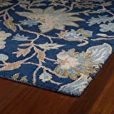 Kaleen Rugs Brooklyn Collection 5304-17 Blue Hand