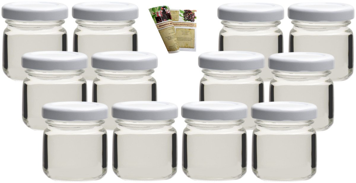 gouveo Set of 36 jars