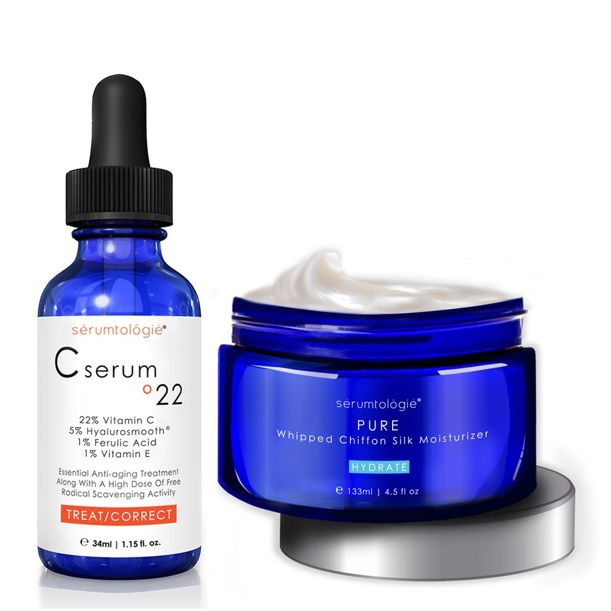 serumtologie C serum º22 & PURE Whipped Chiffon MAX SAVINGS Bundle