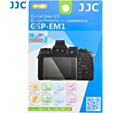 JJC GSPEM1 Optical Glass Screen Protector for Olympus OM-D E-M1 E-M10 PEN E-P5 Digital Camera (Clear)