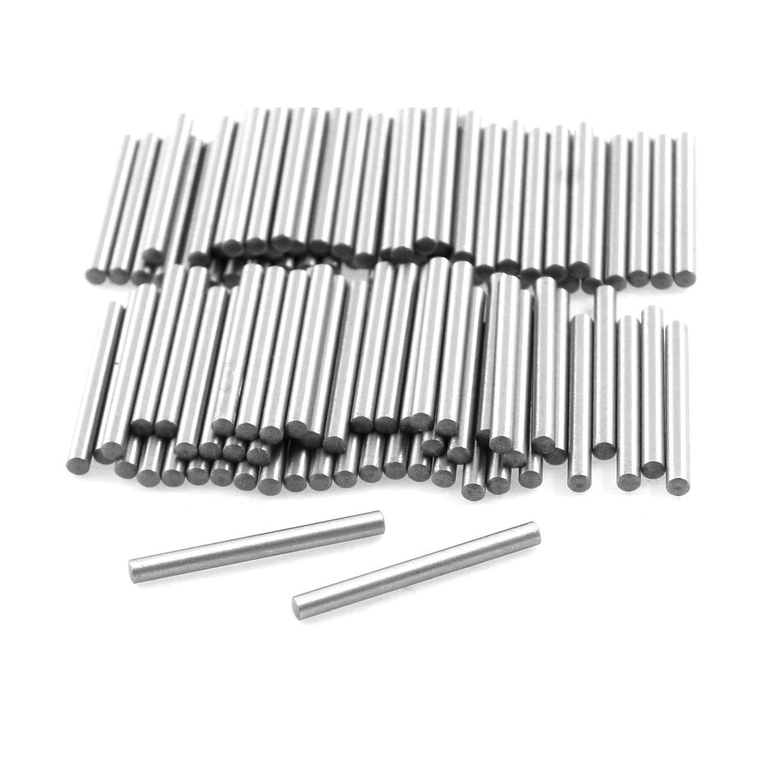 100 Pcs Stainless Steel 1.5mm x 15.8mm Dowel Pins Fasten Elements Sourcingmap a12042300ux0551