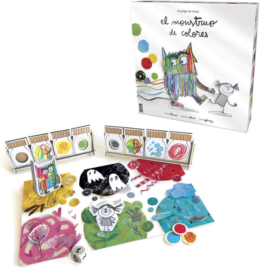 El monstruo de colores, edición en castellano: Amazon.es: Juguetes y juegos