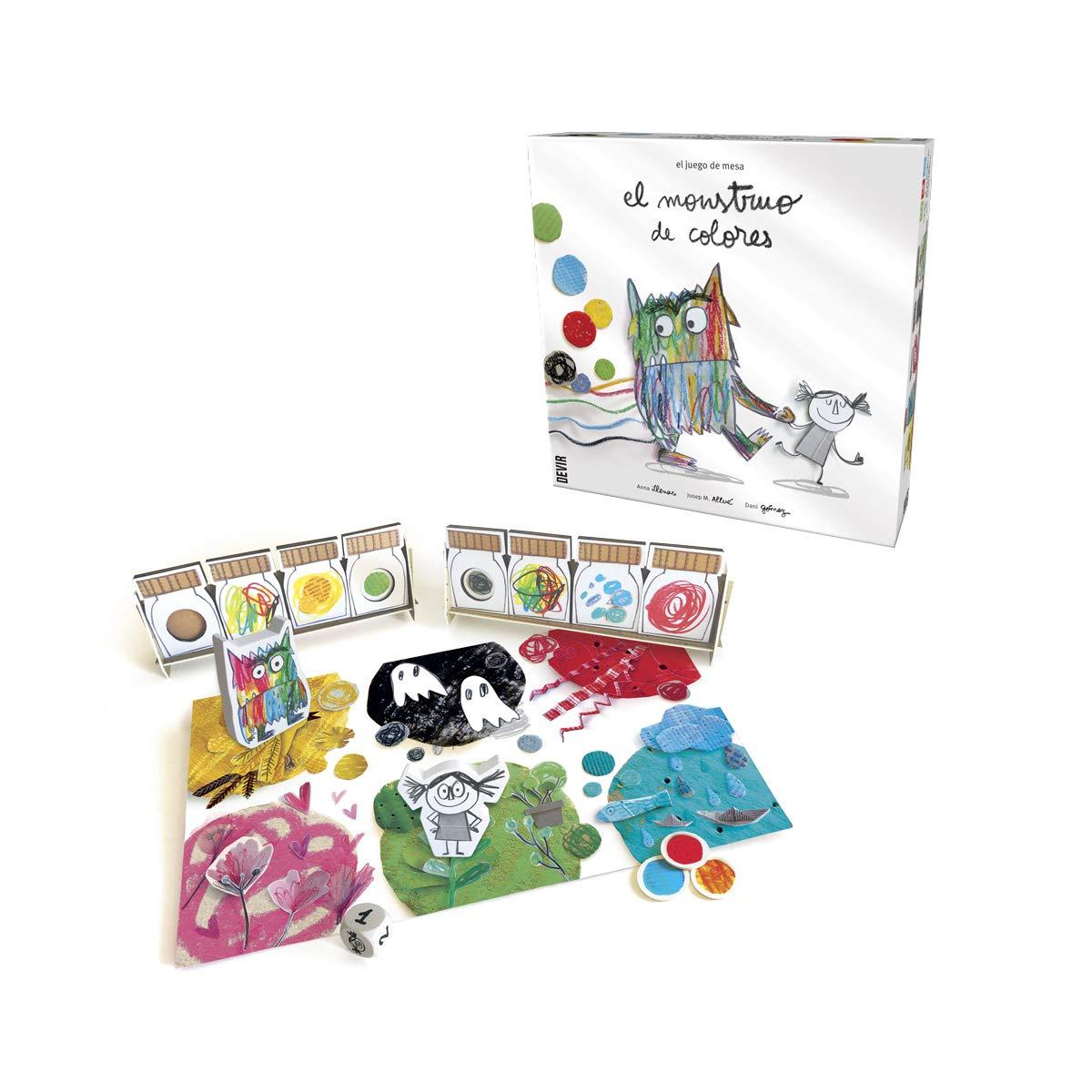 Devir Iberia- 227376 El Monstruo de Colores: Amazon.es: Juguetes y juegos