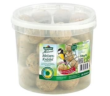 Dehner Natura Seau de 30 boules de graisse sans filets 3 kg  Amazon ... 21ceb8539858