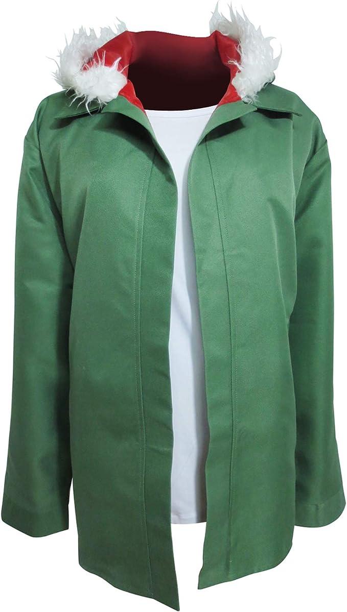 Amazon.com: Noragami shinki Yukine verde chamarra con ...