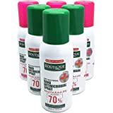 Boutique Hand Sanitizer Spray Anti Bacterial 100 ml, 6PCs BUNDLE (6*100 ml) (( 0% Gas - No Gas ))