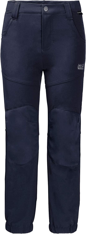 Jack Wolfskin Rascal Winter Pants Kids Pantalones elásticos Softshell para niños. Bebé-Niños