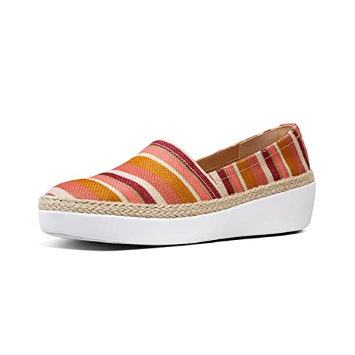 522e6fae4e2 Fitflop Women s Casa Tm Loafers Stripey  Amazon.co.uk  Shoes   Bags