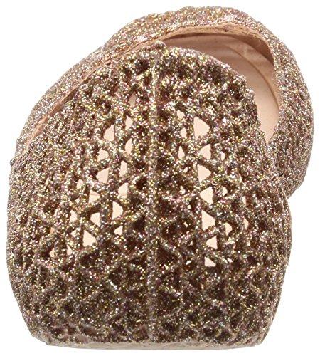 Rose Tacco 52326 Donna Melissa Glitter Chiusa Punta col Scarpe 20 Rosa Papel Campana xq4Tg