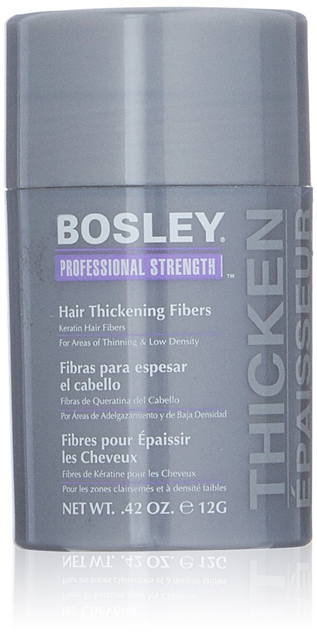 Bosley Professional Strength Hair Thickening Fibers, Dark Brown, 0.42 oz