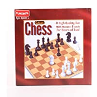 Funskool Games - Chess Classic, War & strategy game, High quality chess set with wooden finish, kids, adults & family, 2…