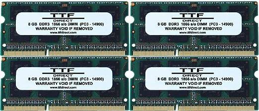 32GB Memory Upgrade for Apple iMac Core i5 3.3GHz Late-2015 Retina 5K