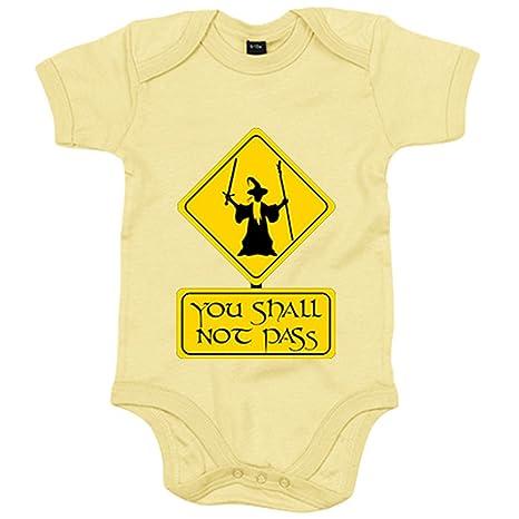 Body bebé El Señor de los Anillos señal You Shall Not Pass ...