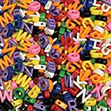 Creativity Street Alphabet Beads, Uppercase, 288-Pack