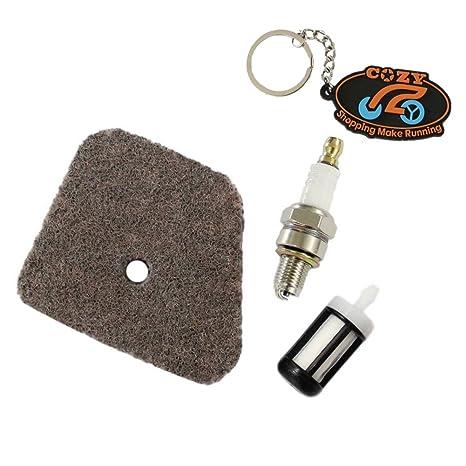 Cozy Pack de aire Filtro de combustible Bujía kit para Stihl ...