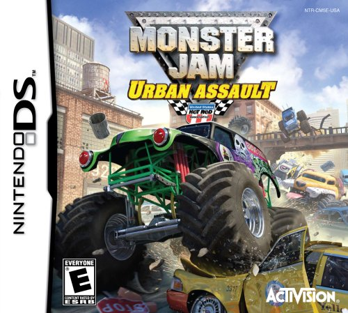 Monster Jam Urban Assult - Nintendo DS