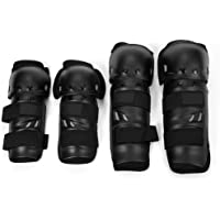 Autopearl Bike Riding Knee and Elbow Guard Set (Set of 4)