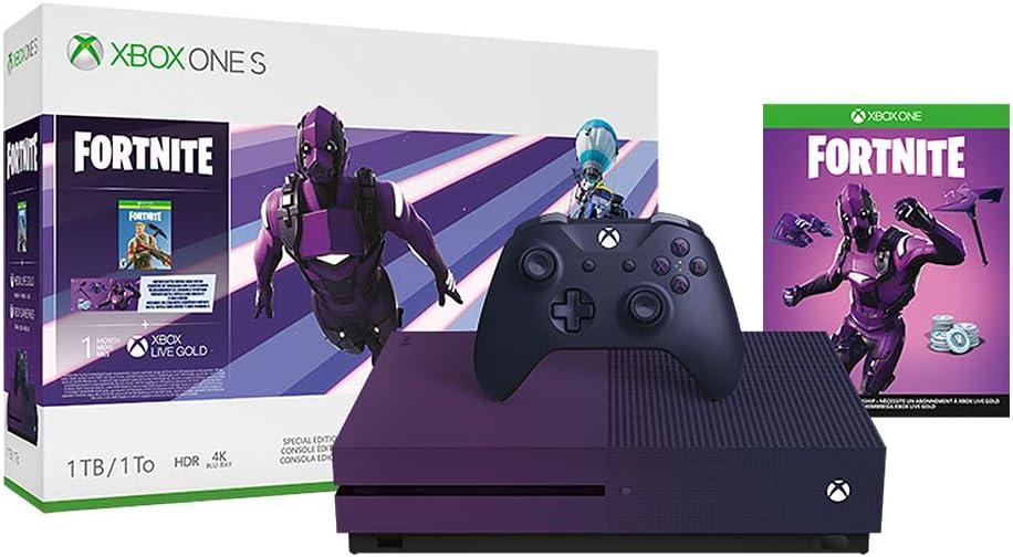 Amazon.com: Xbox One S 1TB Console - Fortnite Battle Royale ...