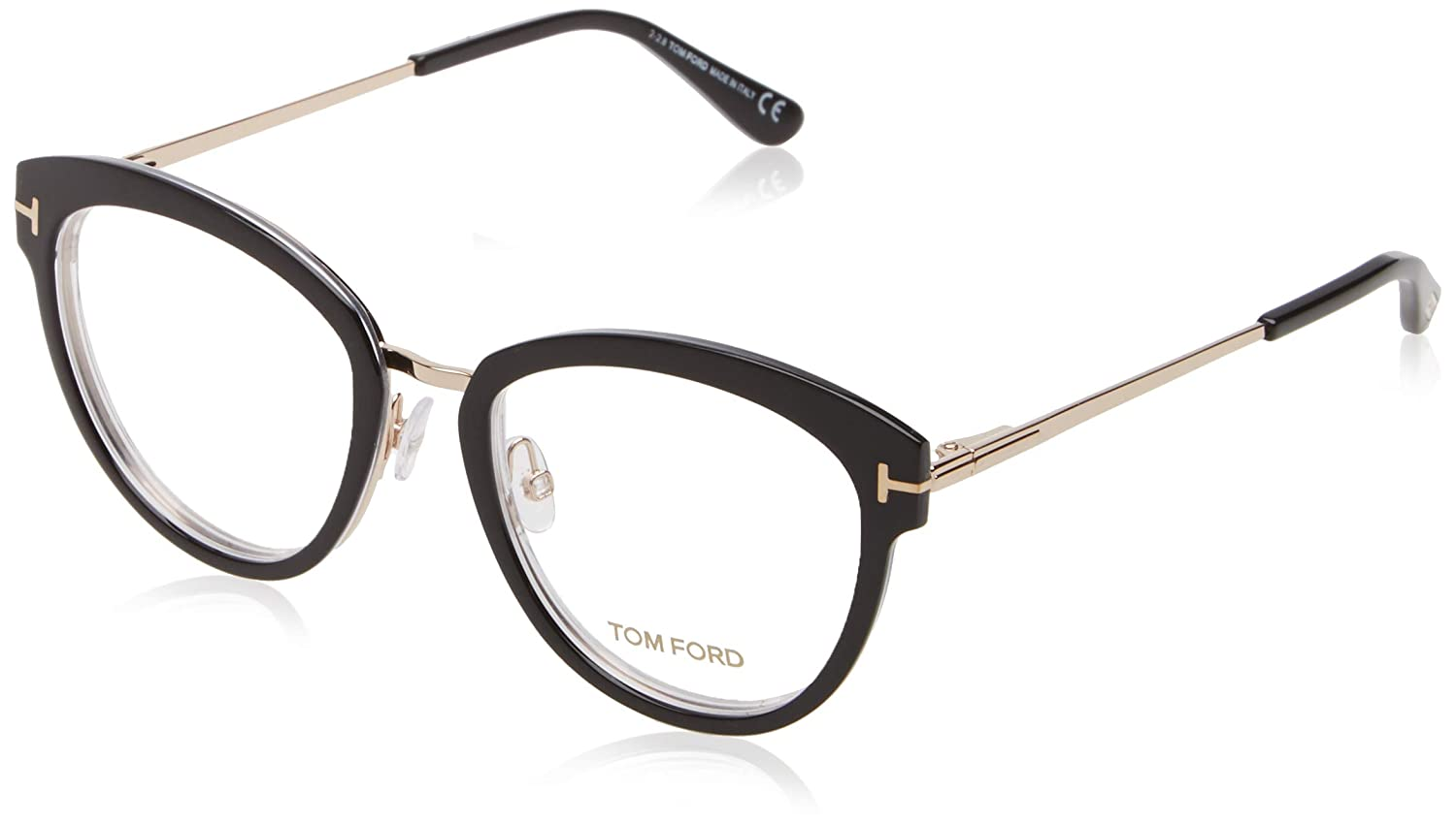 Black Nero 52.0 Tom Ford Unisex Adults/' FT5508 Optical Frames